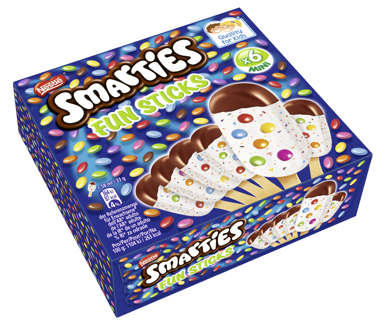 Smarties Eis